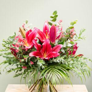 lilies bouquet amandas