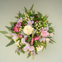 pretty in pink amandas flowers